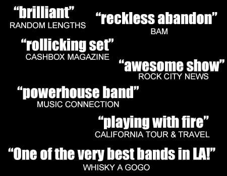 band reviews